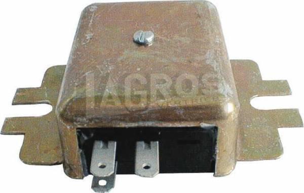 Spannungsregler 15A/12V negativ für Kohler 10-16 PS Motore K181, K241, K301, K321, K482, K532, K582 mit Permanentmagnet-Lichtmaschinen, Gehäuse negativ, auch für Toro