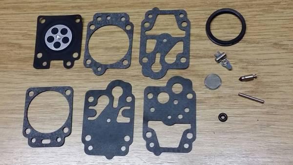 Reparatursatz ersetzt Walbro K20-WYJ für Walbro Vergaser Typ WYJ für Komatsu/Zenoah Trimmer/ Freischneider/ Motorsense/ Laubgebläse BC-260 DLM, BC 2601, G 26 L2, G 23 L, LRT 2300, NS 530, G 23 L, MB 2300, G 23 L1, SGC 2300, G 23 LH, LTH 2300 B, HT 2300