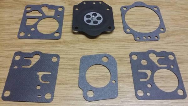 Membransatz ersetzt Zama GND-8 für Zama Vergaser Typ C2 für MC Culloch Motorsäge JennFeng SP-81, PM850, PM800, JennFeng SP81, PM850, PM800