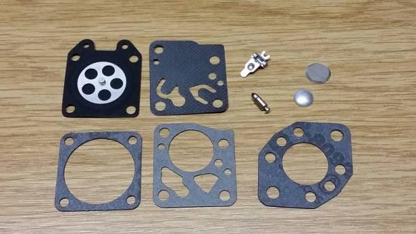 Reparatursatz ersetzt Tillotson RK-15 HU, RK-17 HU für Tillotson Vergaser HU mit Teflon für Oleo Mac Motorsäge/ Trimmer/ Freischneider/ Motorsense 940, 945F, A1350, B450