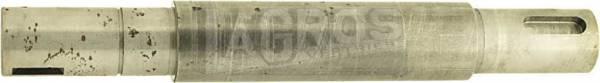 Original Messerwelle Fahrtrichtung links für CastelGarden Rasentraktor/ Aufsitzmäher TC92 LS, J92, TwinCut 92, J/NJ92/98s(H) li., 102-122, auch für Brill, Ering, Honda, Sabo, Stiga u.a.