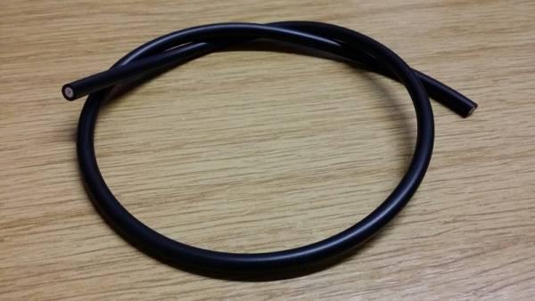 Zündkabel 1 m Ring, gummiert für 5 mm Anschluß