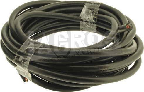 Fahrzeugleitung schwarz, 5 m Rolle, 3 x 1.5 qmm