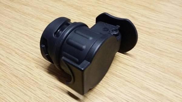 Mini-Kurzadapter 13/7 von 13-pol. Stecker auf 7-pol. Steckdose