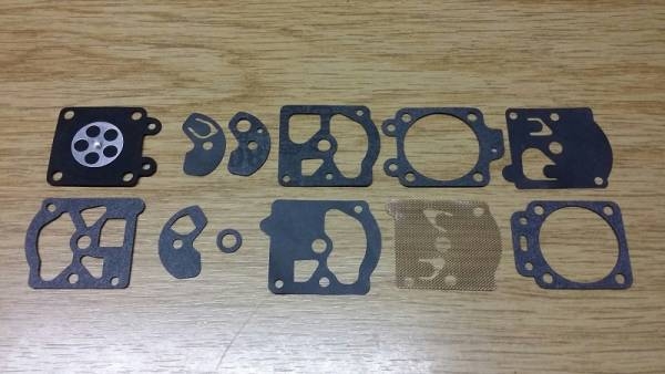 Membransatz ersetzt Walbro D10-WAT für Walbro Vergaser für Dolmar Freischneider/ Motorsäge/ Motorsense/ ... 100, 102, 103, 105, 108, 109, 110, 111, 115, PS-43, PS-52, PS-540, MS-3300, MS-3310, MS-4000, ....