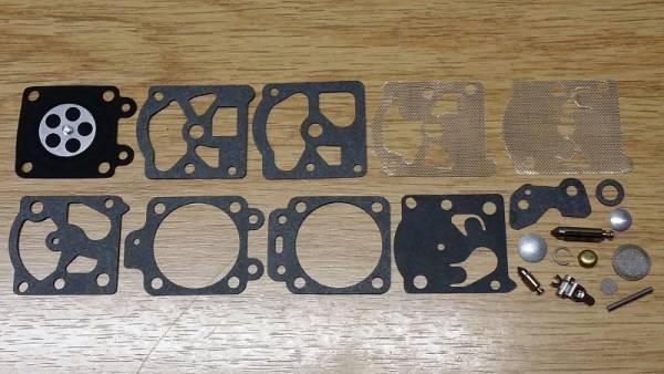Reparatursatz ersetzt Walbro K20-WAT für Homelite Motorsäge/ Trimmer/ Blasgeräte 240, 245, 250, 290, 300, 340, 40 cc, BP 250, Elec. Start Bläser, HB 380, HB 480, HB 680, HT 17 P, ST 155, Ultra 25 cc, Vacuum