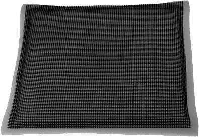 Schaumstoff-Vorfilter mit Gitter-Rücken für Briggs&Stratton 12.5 - 16 PS Motoren