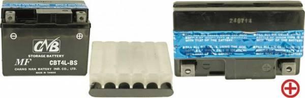 12 V Batterie DIN 50314, 3 Ah / 35 A, +Pol = rechts für Mountfield u.a.,