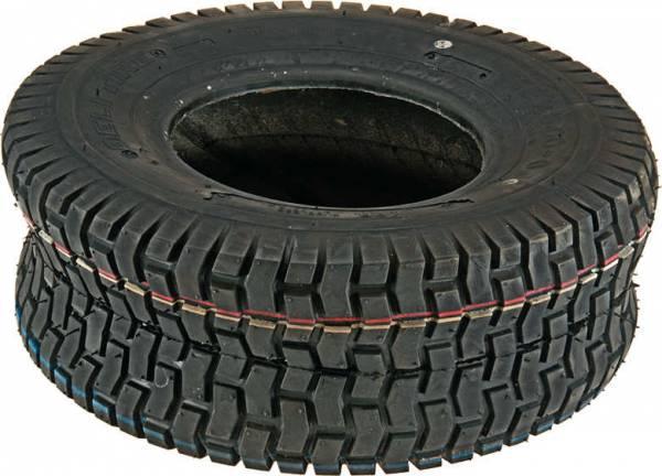 Reifen Rasen-Profil (Gr. = 13 x 5.00-6, Gr. = 5.00/3.50-6) für Unitech Rasentraktor/ Aufsitzmäher S600, T1000