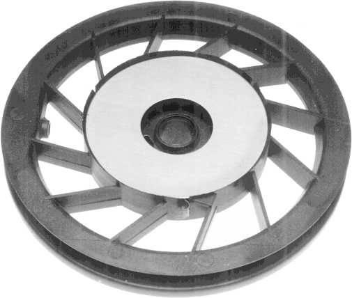 Seilscheibe für Briggs&Stratton 5 PS Motore vertikal OHV-Vanquard 12 CID Quantum 99700, 121700, 121800, 123800, 124800, 126800, 122700, 124700