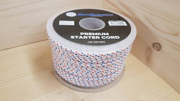 Starterseil für Rasenmäher/Kettensägen (100 m Rolle Ø = 3,5 mm)