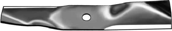 Rasenmähermesser für John Deere 38 Zoll Aufsitzmäher (96.5 cm) passen für Flach-Deck