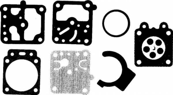Membransatz ersetzt Walbro D10-WZ für Walbro Vergaser Typ WZ für Hitachi Motorsense/ Freischneider CG 23, CG 26 E, CG 26 EA, CG 26