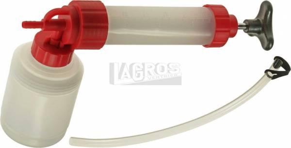Ölspritzpumpe mit Ablassfunktion