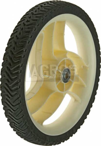 ANtriebsrad/ Kunststoff Rad für Toro Rasenmäher mit Heckantrieb 20012, 20016, 20019
