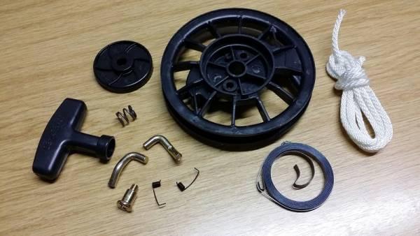 eparatursatz/ Seilrolle Set für Starter/ Handstarter/ Rückholstarter für Honda Motor GX-120, GX-160, GX-200