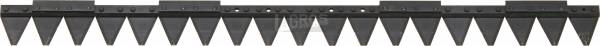 97 cm Balkenmähermesser für Agria Balkenmäher Typ 63-26 (ersetzt Orig.Nr. ESM 248 0550)