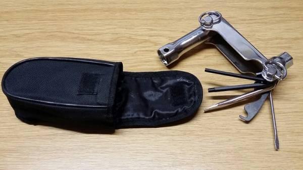 Werkzeugsatz 7-teilig mit Gürteltasche für Motorsägen, Freischneider, Motorsensen, Rasenmäher, u.s.w