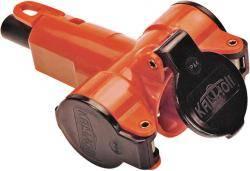 230V 3-fach Verteiler-Steckdose