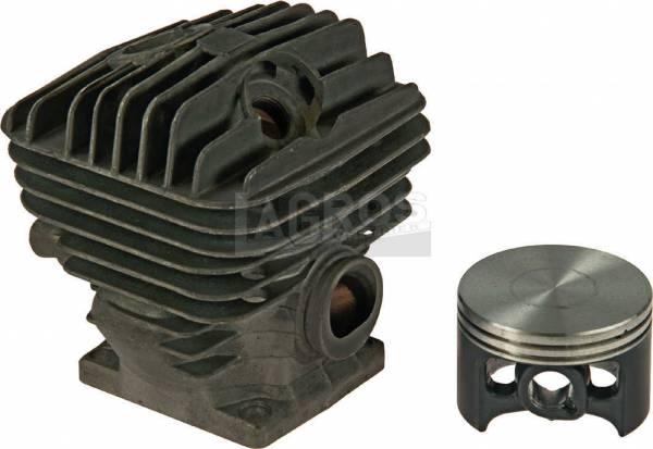 Zylinder mit Kolben für Stihl Motorsäge 046