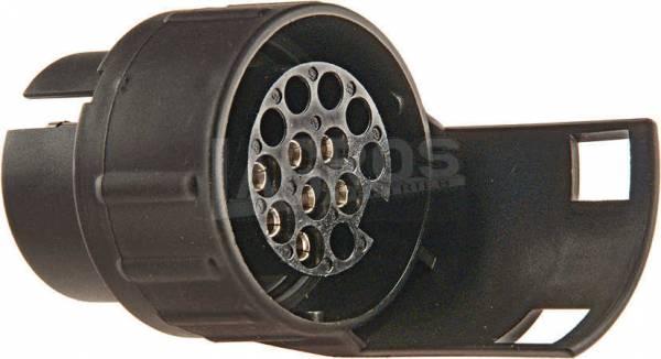 Mini-Kurzadapter 7/13 von 7-pol. Stecker auf 13-pol. Steckdose