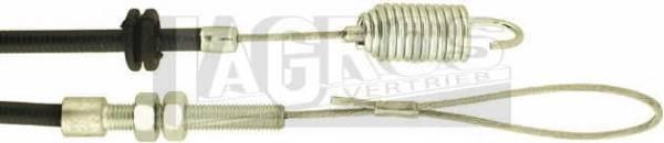 Bowdenzug/ Seilzug für Antrieb für Castel Garden Rasenmäher R430TR, RL430TR, TD430TR, TDL430TR