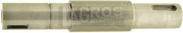 Original Messerwelle Serie TC-72 für Castel Garden Rasentraktoren/ Aufsitzmäher 650-0805, F72, Flipper, auch für Brill, Ering, Honda, Sabo, Solo, Stiga u.a.