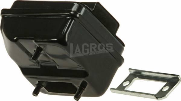 Auspuff/ Schalldämpfer für Homelite Motorsäge XL-12, SXL-12, SXL-A0, SL-15, XL-400, XL-500