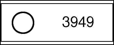 Kreiselmäherklinge grade für Busatis, Hagedorn, Zweegers Kreiselmäher