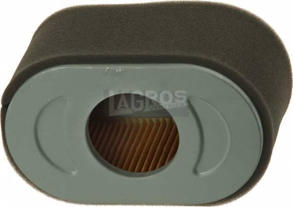 Luftfilter oval mit Vorfilter und Dichtring für Briggs&Stratton 5.5 und 6.5 PS Motoren Vanguard 13 H-132, 13H152, 13H157, 13H332, 13H336, 13H337, 13H352, 13H362, 13L132, 13L332, 13L336, 13L337, 13L352