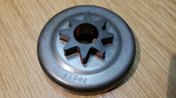 Kettenrad/ Spurkettenrad ohne Lager .325 7 Zähne für Husqvarna Motorsäge 50, 51, 55, 133, 154, 254, 257, 262, Rancher