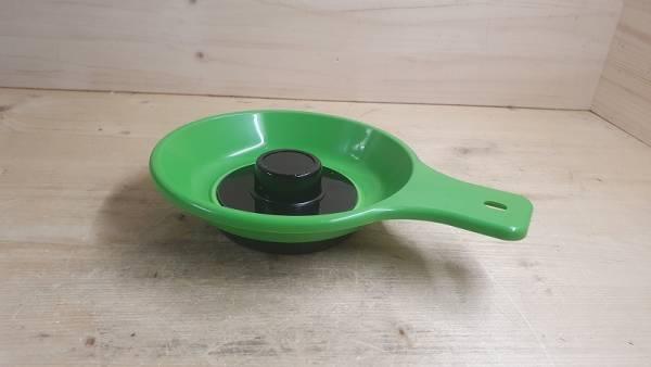 Werkzeugschale magnetisch/ Magnetschale für Schrauben, mit Griff und rutschfesten Gummiboden