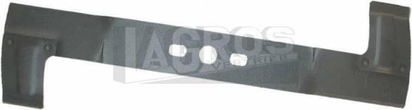 Rasenmähermesser für Alko Heckauswurf-Mäher teilweise mit angenieteten Windflügeln Aero-Keil, 48 Sunline, GTE-Jetsog, Golden-Line