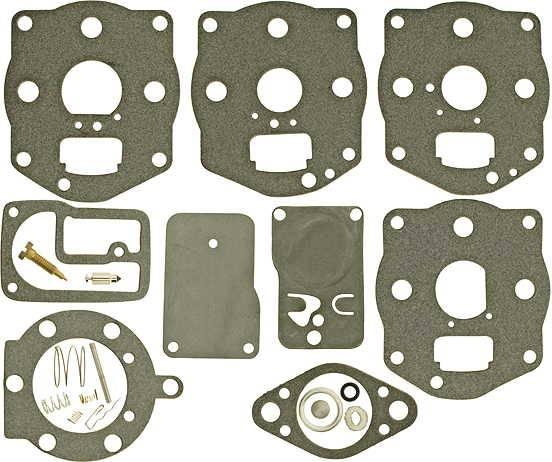 Vergaser Reparatursatz für Briggs&Stratton 2-Zylinder Boxer Motore 400400, 422700