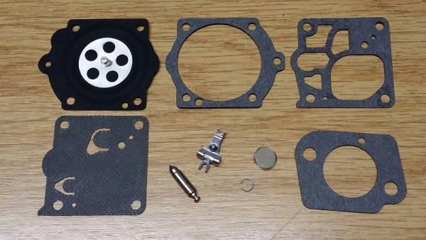 Reparatursatz ersetzt Walbro K10-WJ für Walbro Vergaser Typ WJ für Partner Motorsäge/ Trennschneider 405, 455, 525, 655, P 42 T, P 52 T, P 62 T, P 65T, Pro 475