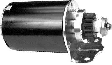 Elektrostarter für Briggs&Stratton 1- und 2-Zylinder-Modelle ab 8 PS mit Aluminium-Motor Standard 254422, 254427, 286707, 28A707, 28B702, 28B707, 28M707, 28Q707, 28N707