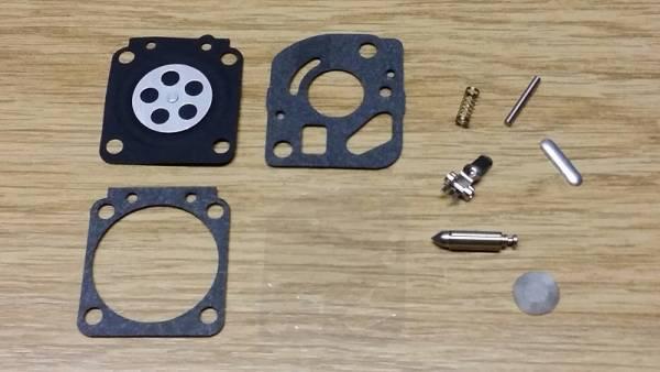 Reparatursatz ersetzt Zama RB-62 für Zama Vergaser C1Q für Echo Trimmer/ Freischneider/ Motorsense SRM-2100, SRM-2400, GT-2000, GT-2400