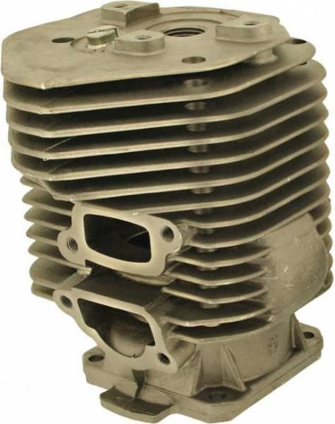 Zylinder mit Kolben mit Deko Öffnung + Stopfen für Stihl Motorsäge/Trennschleifer 051, TS 510