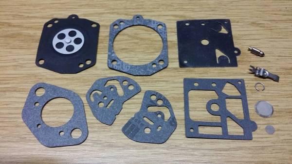 Reparatursatz ersetzt Walbro K3-HDA, K10-HDA, K11-HDA, K20-HDA, K22-HDA für Walbro Vergaser Typ HDA für Kawasaki Blasgeräte/ Sprügeräte TE 04 D, TE 040 DX, TE 40, TE 48, TE 56 TEO 040 D