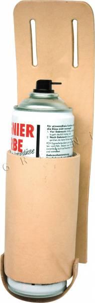 Dosenköcher für Gürtel aus Leder