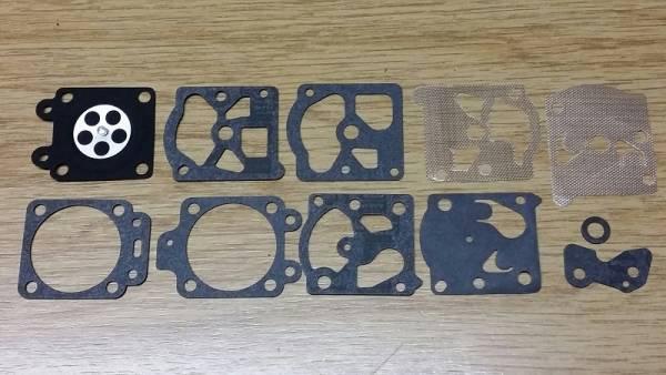 Membransatz ers. Walbro D20-WAT für Walbro Vergaser Typ WA für Komatsu/Zenoah Motorsäge/ Trimmer/ Freischneider/ Motorsense ES 335, G 500, G 500, HC 500 Concrete, HC 51 OD