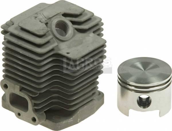 Zylinder mit Kolben für Kawasaki Trimmer/ Freischneider/ Motorsense TH-48, auch für Solo, Toro