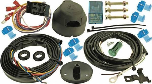 Elektro-Satz 7-polig, mit Nebelschlußlicht-Abschaltung für Anhänger-Kupplung