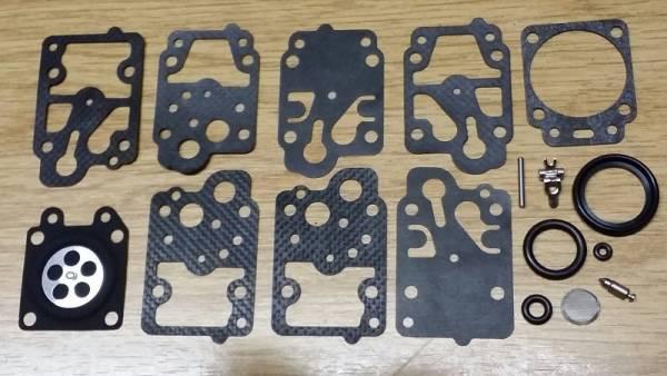 Original Walbro Reparatursatz K10-WY für Walbro Vergaser Typ WY für Robin Heckenschere EC 01 R, NB 23 M, EC 02 ER