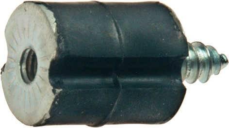 Ringpuffer, Bolzen selbstschneid. Gew. Ø5.5 x 10mm für Husqvarna Motorsäge 61, 66, 266
