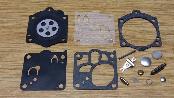 Original Walbro Reparatursatz K15-WJ für Walbro Vergaser Typ WJ für Homelite Motorsäge SXL 925, XL 98 C, XL 98 D