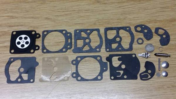 Reparatursatz ersetzt Walbro K1-WA, K10-WAT für Walbro Vergaser Typ WA für Tanaka Blasgerät/ Motorsäge/ Trimmer/ Freischneider/ Motorsense/ Heckenschere ECS290, 300, ECS4000, ST1600, PB312, THT232, TBC232, TED23, THT262, ...