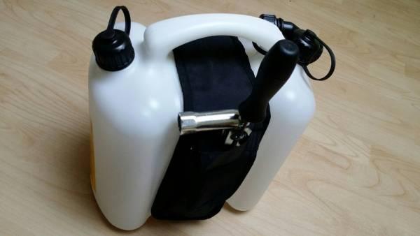 Werkzeugtasche für Doppelkanister/ Kombikanister