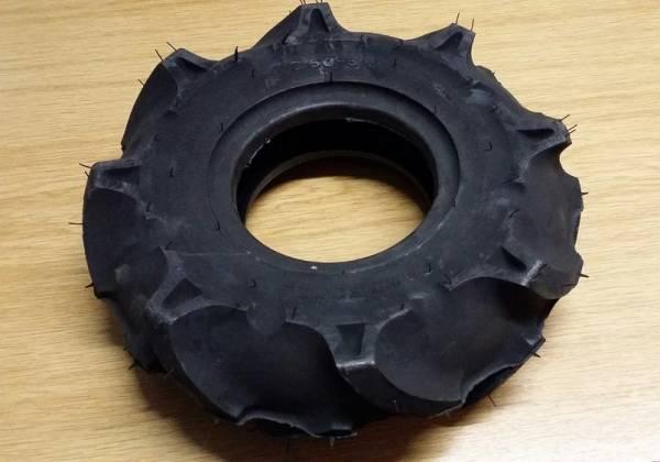 Reifen Ackerstollen-Profil (Gr. = 3.50-5) für Motorhacken und Balkenmäher