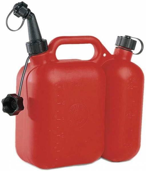 Kombikanister Profi 5+3l für Öl und Gemisch zur Motorsäge